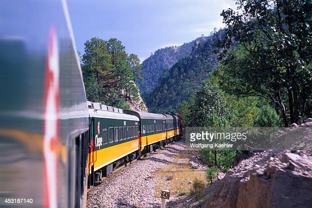 Mexico Chihuahua Copper Canyon National Park Copper Canyon Train