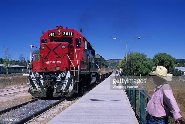Mexico Chihuahua Creel Copper Canyon Train