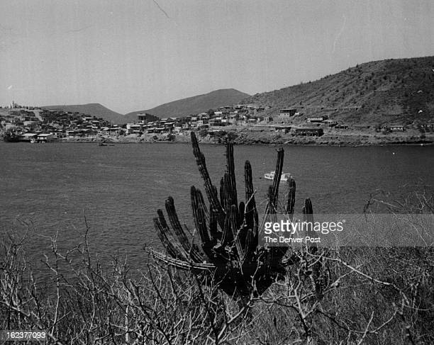 JUN 20 1965 Mexico * Cities * Topolobompo Mexico Seaport Town Offers Top Fishing A view of Topolobompo Sinaloa fishing center on Northern Mexico's...