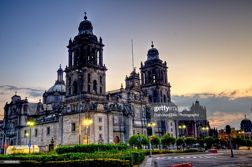 Mexico City Cathedral : Stock Photo