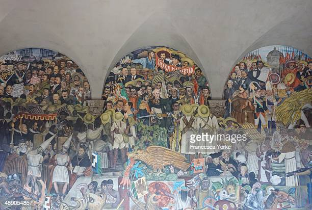 Mexico City Diego Rivera mural National Palace