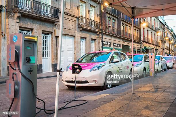 Mexico City Electric Taxi Car Fleet