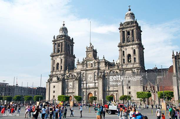 catedral metropolitana da cidade do méxico  - catedral - fotografias e filmes do acervo