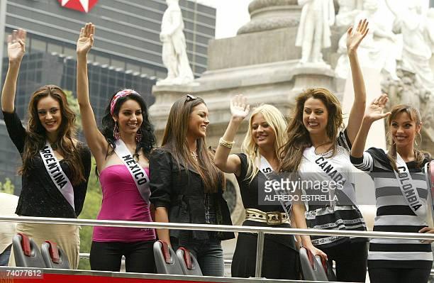 Daniela Stucan Miss Argentina 2007 Rosa Maria Ojeda Miss Mexico 2007 Zuleyka Rivera Miss Universe 2006 Chista Rigozzi Miss Switzerland 2007 Inga...