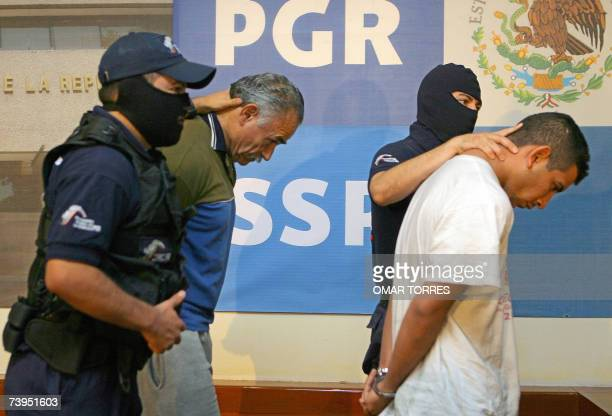 Members of a cell of the Gulf cartel which operated in the