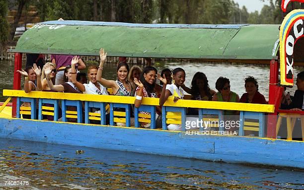 Miss Mauritius 2007 Sandra Faro Miss South Africa 2007 Megan Coleman Miss Estonia 2007 Viktoria Azovskaja Miss Germany 2007 Angelina Glass Miss...