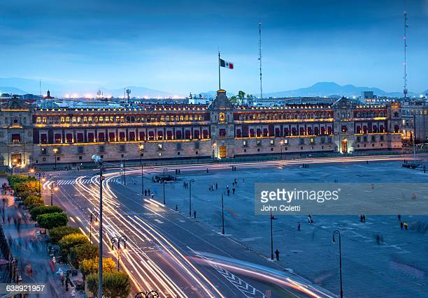 mexico city, mexico - national palace mexico city stock pictures, royalty-free photos & images