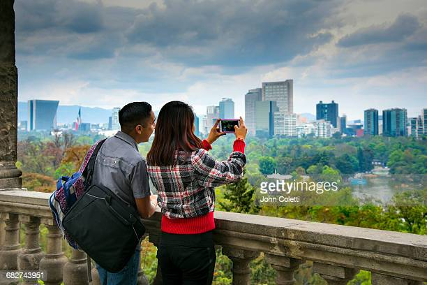 mexico city, mexico - chapultepec park stock photos and pictures