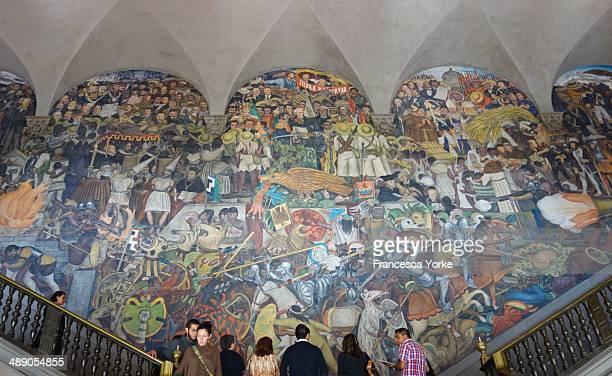 Mexico City National Palace Diego Rivera