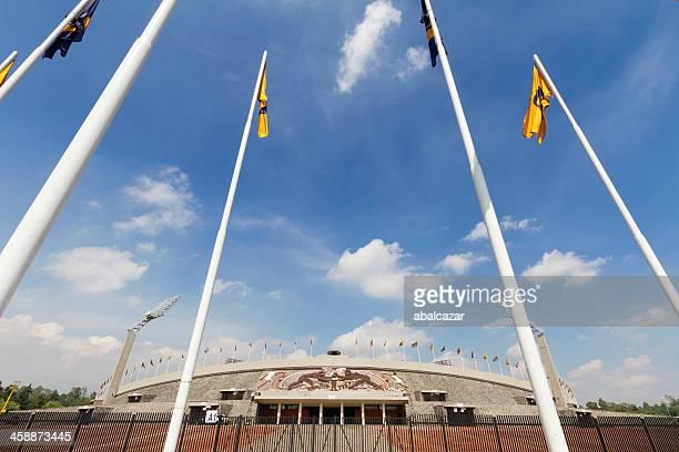 stadio olimpico di città del messico - stadio olimpico foto e immagini stock