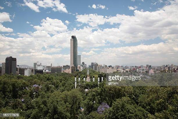 mexico city - chapultepec park stock photos and pictures