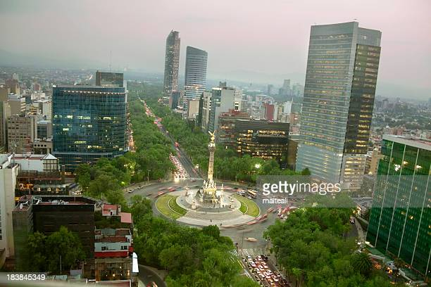mexico city - mexico city aerial stock pictures, royalty-free photos & images