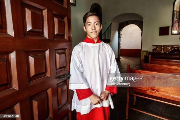 Mexico City Saint John the Baptist Catholic Church altar boy