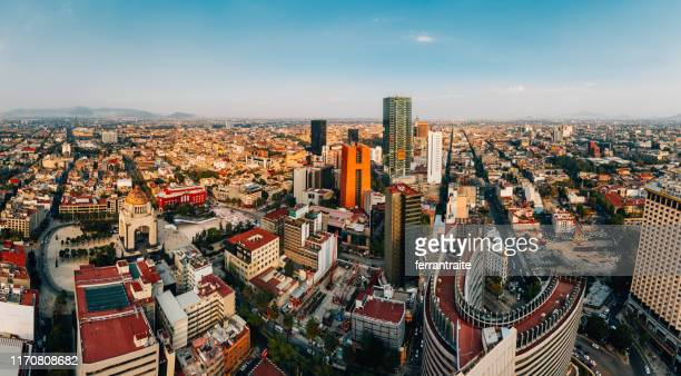 mexico city skyline - mexico city stock pictures, royalty-free photos & images