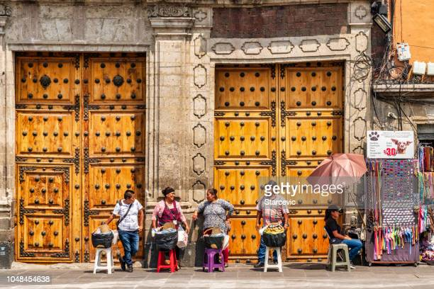 mexico city street scene - mexico city stock pictures, royalty-free photos & images