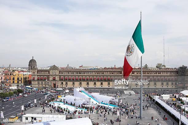 Piazza zocalo di Città del Messico,