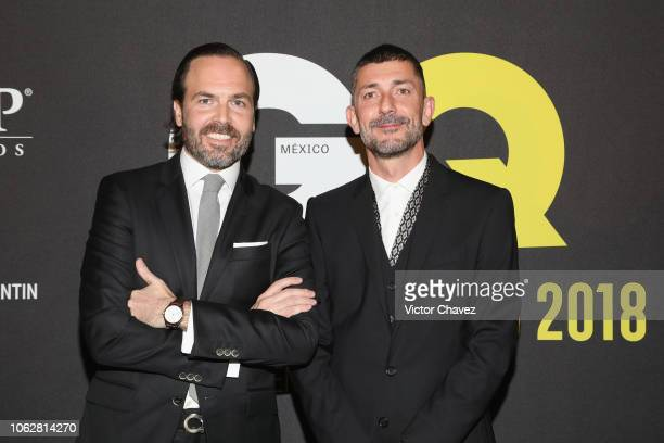 Mexico editorial director Urbano Hidalgo and guest attend GQ Mexico Men of the Year Awards 2018 at Centro Cultural Roberto Cantoral on October 31,...