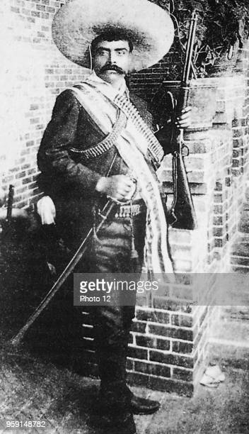 Mexico Emiliano Zapata revolutionary against the Profirio Diaz dictatorship c1910