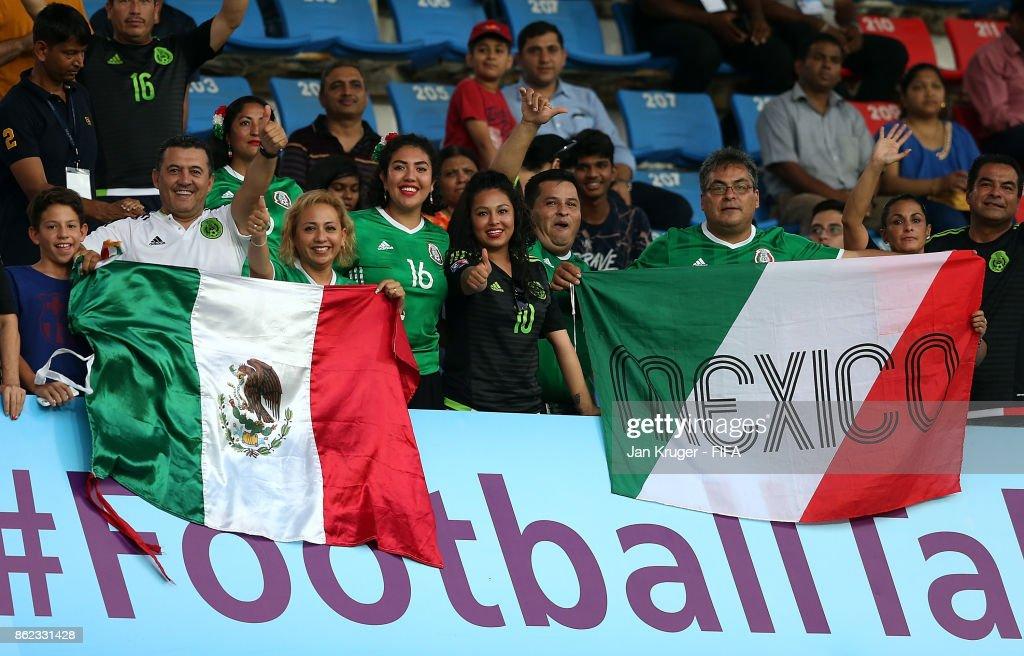 Iran v Mexico - FIFA U-17 World Cup India 2017 Round of 16 : News Photo