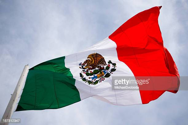 mexico flag - mexican flag stock pictures, royalty-free photos & images