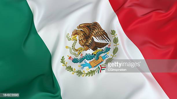 mexico flag - flag stock pictures, royalty-free photos & images