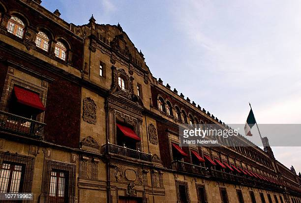 mexico government palace, mexico city - national palace mexico city stock pictures, royalty-free photos & images