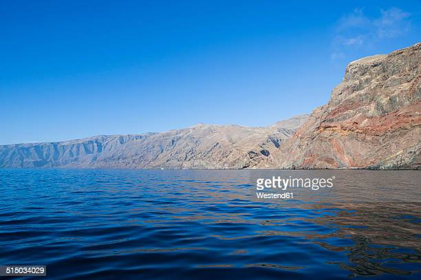 mexico, guadalupe, view to rocky coast - nuevo leon stock pictures, royalty-free photos & images