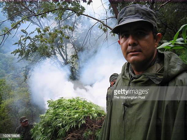 mexico letter harvest INPUTDATE 132721700 CREDIT William Booth/STAFF/TWP Chilpancingo Guerrero Mexico Mexican Army Major Hugo de la Rosa and his...