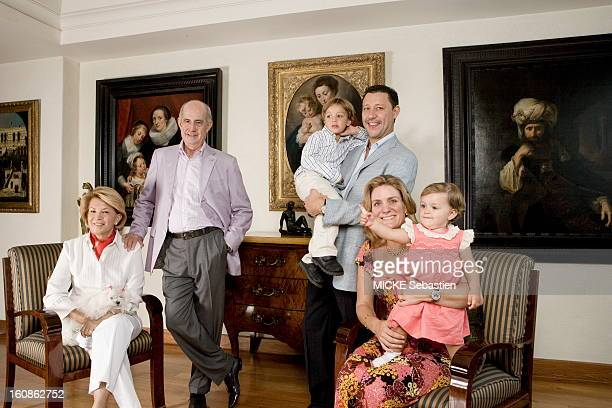 Mexico May 22 2010 Juan Antonio Perez Simon Mexican billionaire has built in thirty years a collection of masterpieces covering five centuries of art...