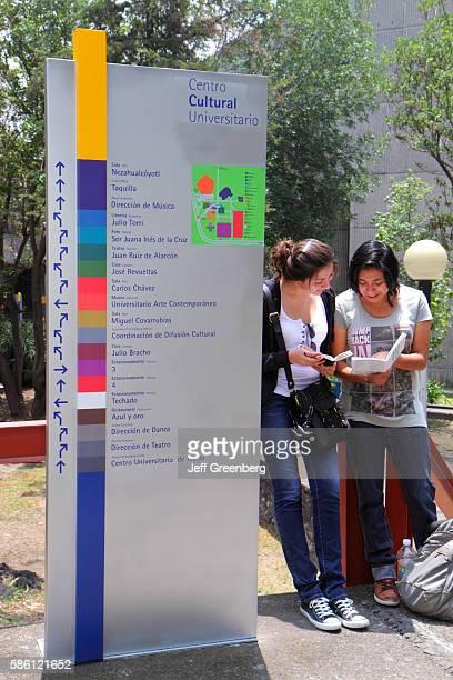 Mexico Mexico City Distrito Federal Ciudad Universitaria campus Universidad Nacional Aut—noma de MŽxico arts center
