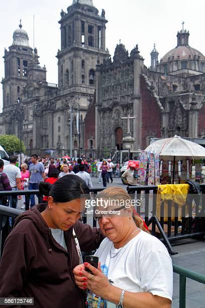 Mexico Mexico City Distrito Federal historic center Zocalo Plaza de la Constitucion Metropolitan Cathedral Sagrario Metropolitano