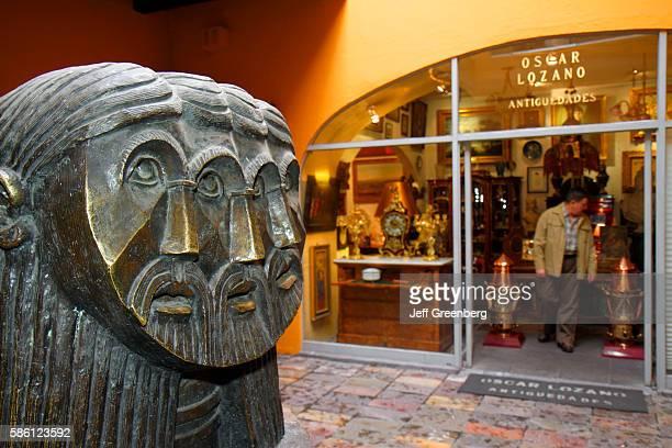 Mexico Mexico City Distrito Federal Zona Rosa Calle Londres Plaza del Angel Centro de Antiguedades antiques mall