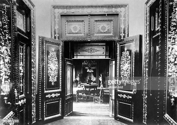 Interior view of the parliament date unknown