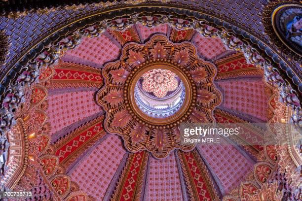 Mexico, Michoacan State, Morelia, Sanctuary of Nuestra Senora de Guadalupe cupola, 17th century, Unesco World Heritage