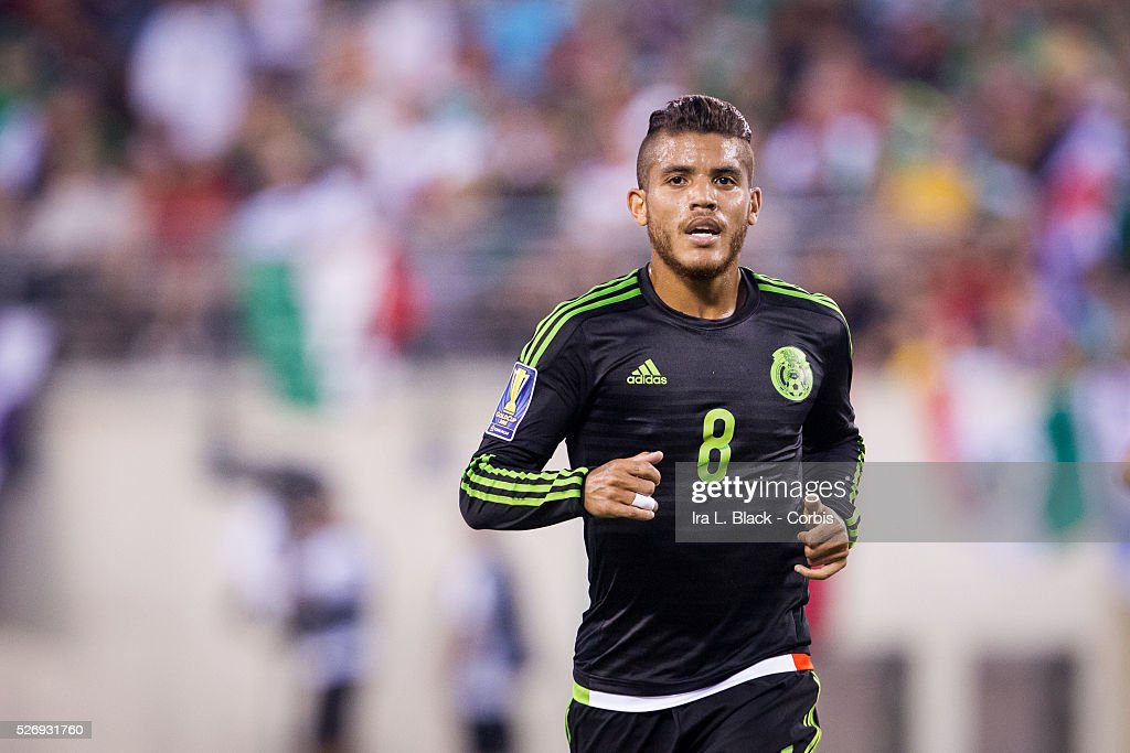 Soccer, 2015 CONCAAF Gold Cup Quarter Final Match, Mexico National Soccer Team vs Costa Rica Nationa : News Photo