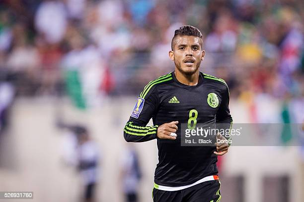 Mexico National Soccer team player Jonathan Dos Santos during the Soccer 2015 CONCAAF Gold Cup Quarter Final Match Mexico National Soccer Team vs...