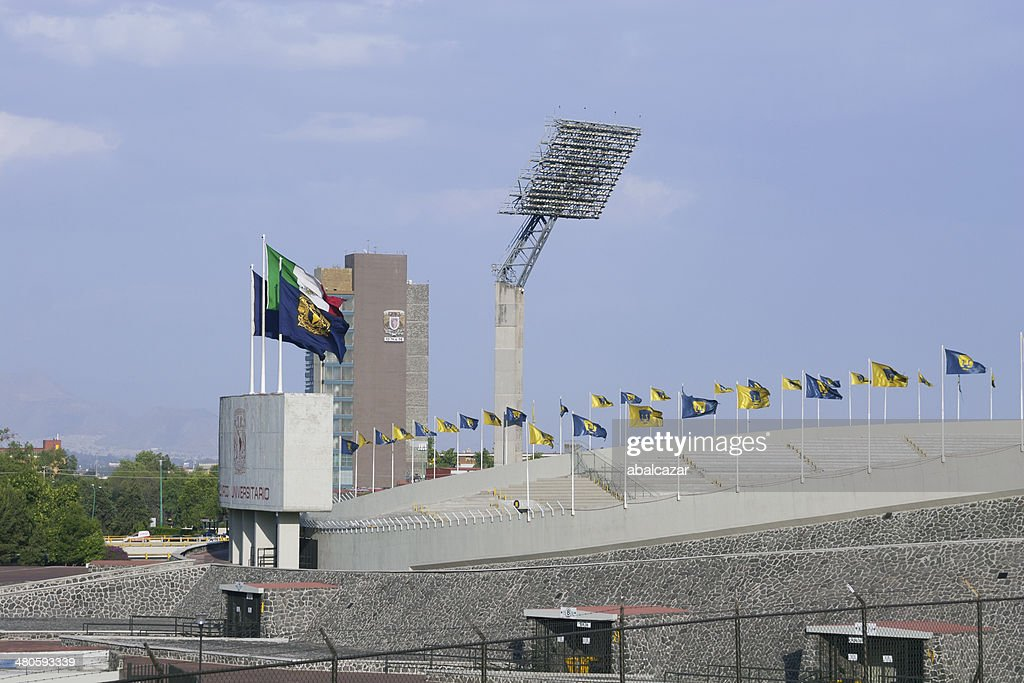 Mexico Olympic stadium : Stock Photo