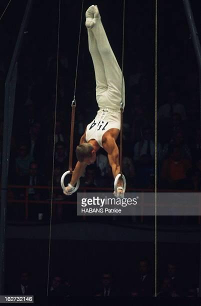 Mexico Olympics Games 1968 Les JO de Mexico du 12 au 27 octobre 1968 Gymnastique Anneaux hommes