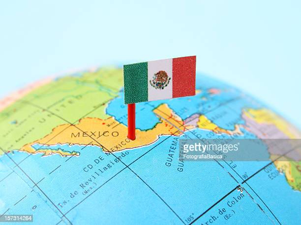 mexico - mexico map stock photos and pictures