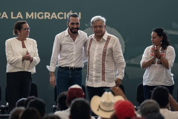 MEX: Lopez Obrador Meets Nayib Bukele Amid Migration Crisis In the Mexico-Guatemala Border