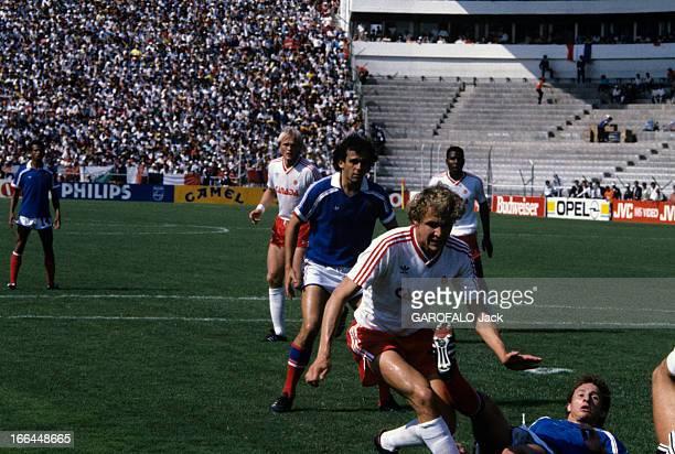 Mexico Soccer World Cup Team France Mexico 30 juin 1986 A l'occasion de la coupe du monde de football reportage sur deux matchs de l'équipe de France...