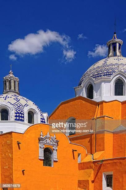 mexico tlaxcala iglesia de san jose - tlaxcala stock photos and pictures