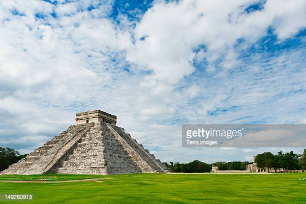 Mexico, Yucatan, Chichen Itza, Mayan ruins