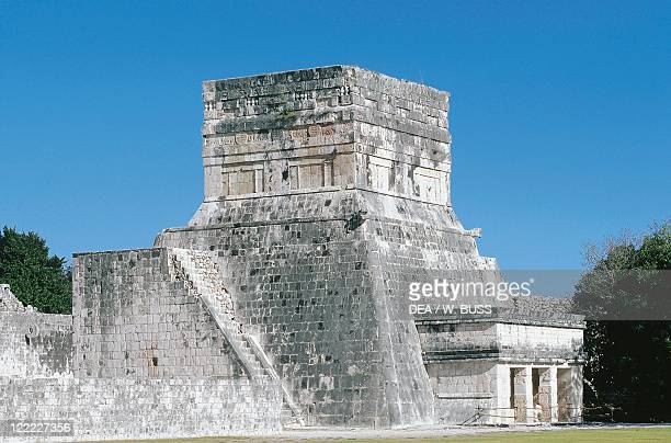 Mexico Yucatan State Chichen Itza Archaeological site Pelota