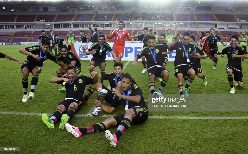 FBL-CONCACAF-U17-MEX-USA-FINAL : News Photo