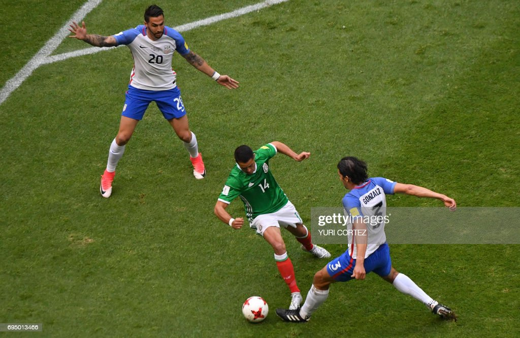 USA-FBL-WC-2018-MEX : News Photo