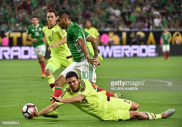 be1effdcf Mexico s Jesus Manuel Corona eludes Venezuela s Wilker Romero to score  during their Copa America Centenario football