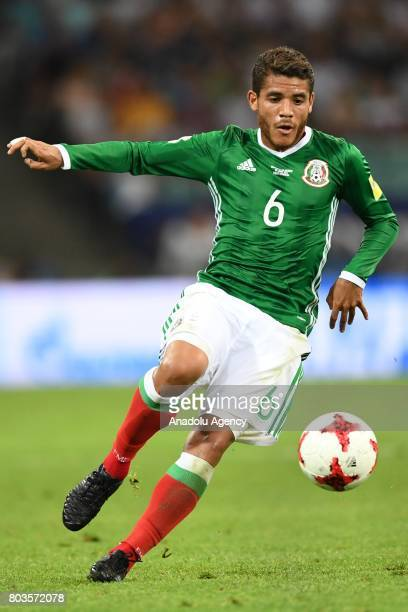 Mexico's Jonathan Dos Santos during match the FIFA Confederations Cup 2017 between Germany and Mexico in Sochi Russia on June 29 2017