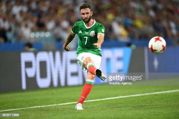 Mexico's Miguel Layun during match the FIFA Confederations Cup 2017 between Germany and Mexico in Sochi Russia on June 29 2017