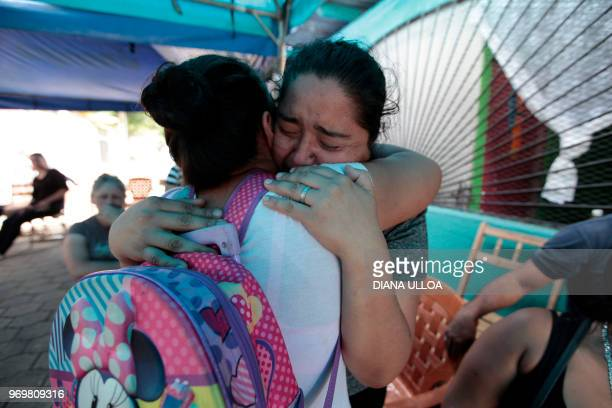 Meyling Jerez mother of 19yearold student Chester Chavarria who was shot dead during antigovenment protests at the Autonomous University of Nicaragua...